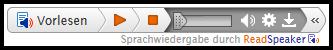 Bildschirmfoto des Erweiterten Wiedergabefeldes
